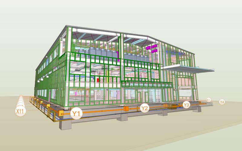 施工図作成業務(3D CAD)